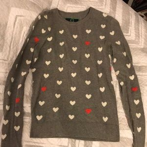Cashmere heart sweater from C Wonder